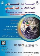 چهارمین کنفرانس ملی دانشجویی کارآفرینی