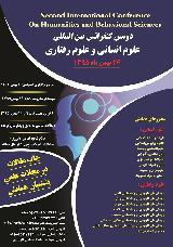 کنفرانس علوم انسانی و علوم رفتاری
