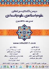 دومین کنگره بین المللی علوم اسلامی، علوم انسانی